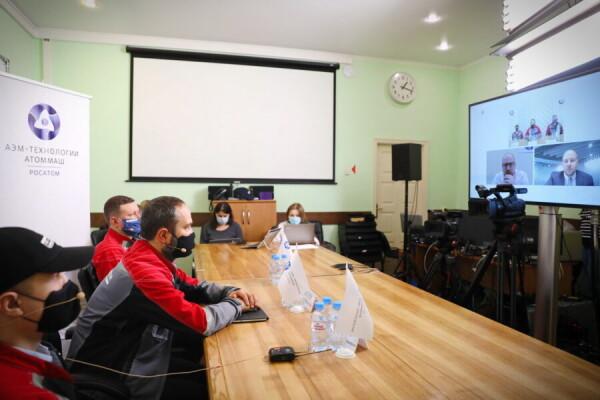Росатом провел виртуальный тур по Атоммашу для саудовских партнеров