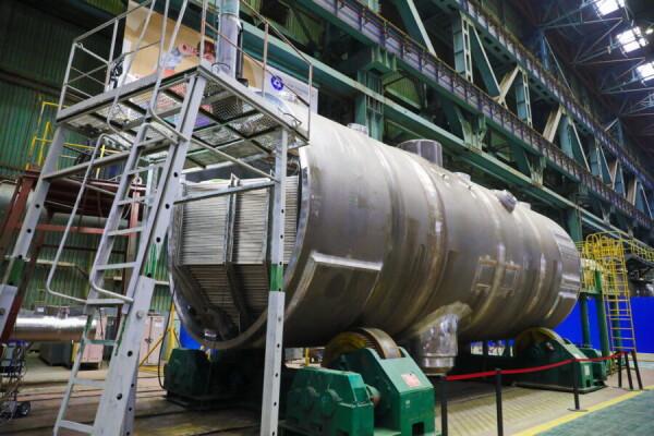 На Атоммаше комплект парогенераторов для второго блока АЭС «Руппур» прошел ключевой этап изготовления