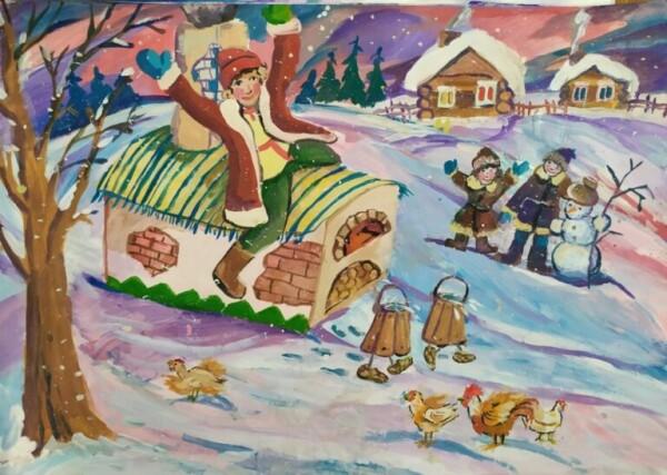 Подведены итоги открытого регионального конкурса детского рисунка «Зимняя сказка»