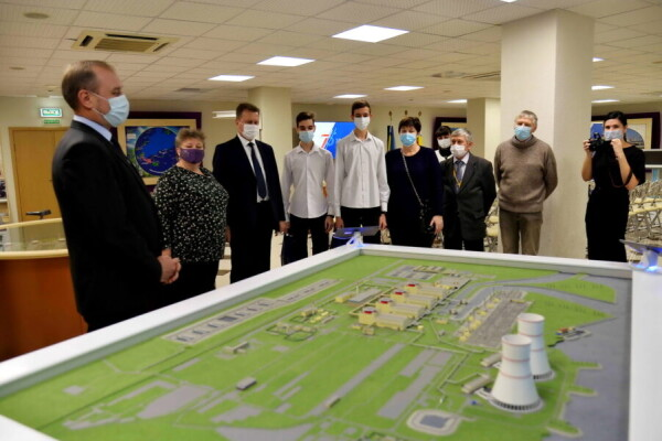Ростовская АЭС: цифровые технологии информационного центра помогут в профориентации волгодонской молодёжи