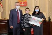 Володя Смирнов из Волгодонска получил подарок в рамках проекта «Елка желаний»