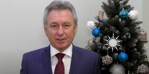 Глава администрации Волгодонска Виктор Мельников поздравляет горожан с Новым 2021 годом