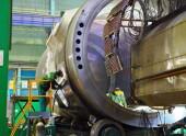 На Атоммаше соединили два полукорпуса атомного реактора для второго блока АЭС «Руппур»