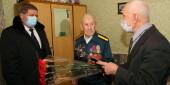 «Сын полка» Клим Неополькин принимает поздравления с Днем воинской славы России