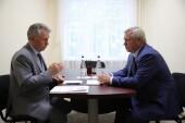 Василий Голубев поручил подготовить предложения о финансировании работ по восстановлению коллектора в Волгодонске