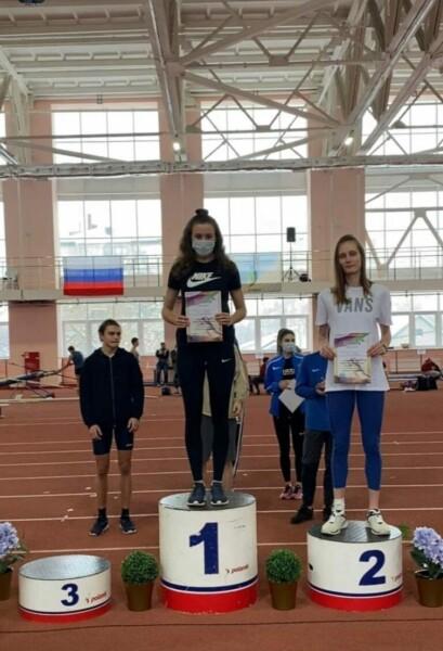 Три спортсменки из Волгодонска заняли призовые места на первенстве ЮФО по легкой атлетике