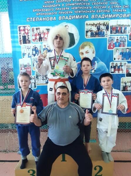 Волгодонские дзюдоисты завоевали награды на открытом первенстве по дзюдо памяти Владимира Степанова
