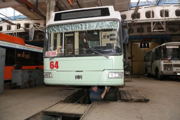 Муниципальный общественный транспорт готовится к весне и дачному сезону