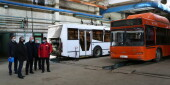 Министр транспорта Ростовской области побывал с рабочим визитом в Волгодонске и посетил отраслевые объекты