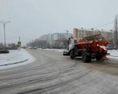 Департамент строительства и городского хозяйства: в ночные часы дороги в Волгодонске обработали от наледи