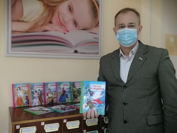 Библиотеки Волгодонска присоединились к V Всероссийской акции «Дарите книги с любовью»