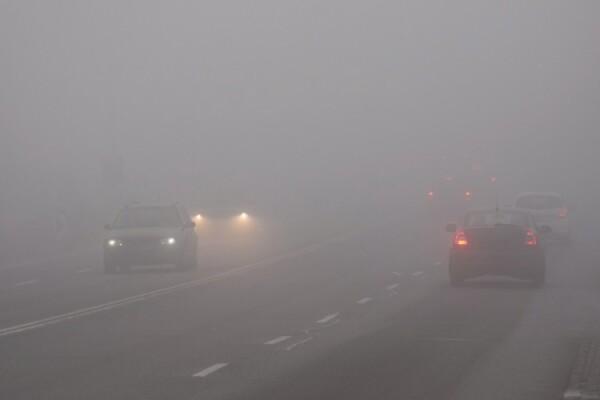 В Ростовской области сильный туман затрудняет видимость на дорогах