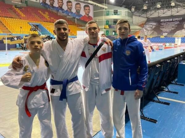 Рукопашники Волгодонска взяли два золота на первенстве Европы