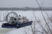 Областные спасатели и МЧС пришли на помощь рыбакам, попавшим в беду на Цимлянском водохранилище