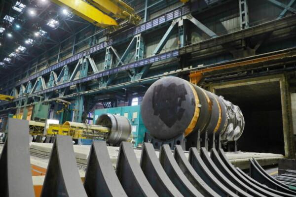 На Атоммаше завершилась термообработка корпуса реактора для второго блока АЭС «Руппур»