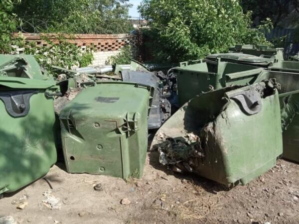 За год на Дону испортили почти 800 мусорных контейнеров
