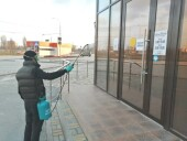Розничные рынки и ярмарки в Волгодонске приступили к еженедельной дезинфекции торговых площадей