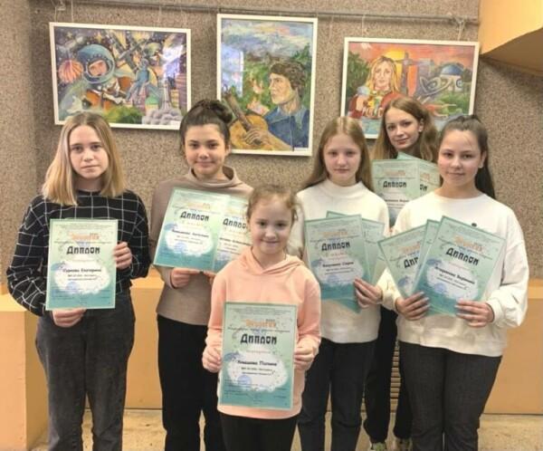 Воспитанники ДХШ Волгодонска победили в 14 Международном конкурсе детского изобразительного творчества «ЭКОЛОГИЯ»