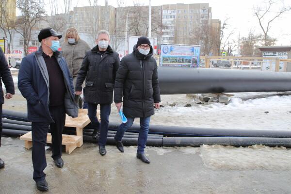 Волгодонску выделены средства на восстановление участка аварийного коллектора