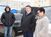 Школа 21 века: депутаты-единороссы оценили темпы строительства школа в квартале В-9