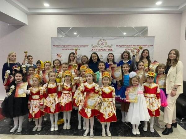 Народный ансамбль эстрадного танца «Алые паруса» завоевал Гран-при Международного конкурса «Поколение талантов»