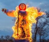 В Ростовской области запретили сжигать чучело Масленицы
