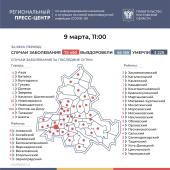 Число подтверждённых случаев COVID-19 увеличилось в Ростовской области на 262