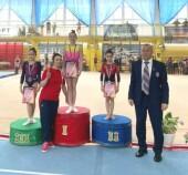 Волгодонские гимнастки успешно выступили на всероссийских соревнованиях в Брянске