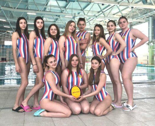 Волгодонские ватерполистки вышли в финал первенства России по водному поло среди девушек до 17 лет