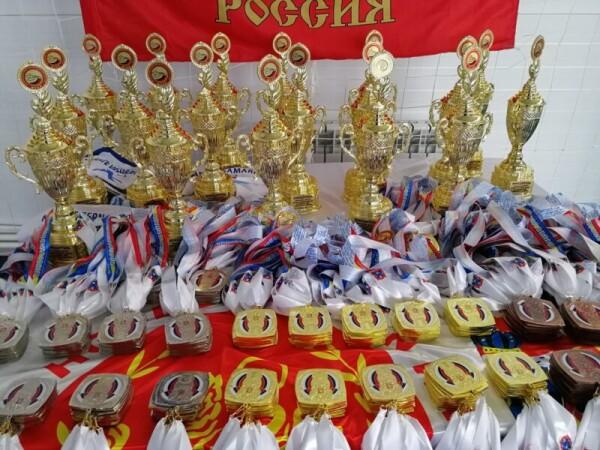 Волгодонские каратисты завоевали на Всероссийском турнире по каратэ WSF более 60 медалей