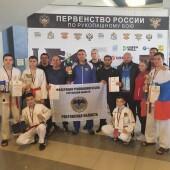 Рукопашники Волгодонска завоевали на первенстве России «серебро» для Ростовской области