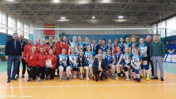 Волейболистки Волгодонска — первые на Чемпионате Ростовской области