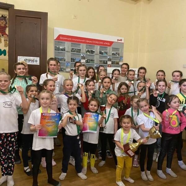 Воспитанники ансамблей «Радуга» и «Радужка» стали победителями международного конкурса