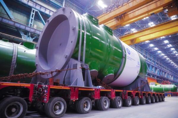 Атоммаш отгрузил для первого блока Курской АЭС-2 ВВЭР-ТОИ – атомный реактор нового типа