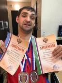 Магомед Холухоев привез с соревнований пять медалей