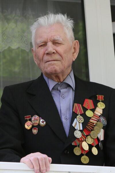 Победители: участник Великой Отечественной и советско-японской войн Николай Авилов