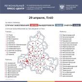 Число подтверждённых инфицированных коронавирусом увеличилось в Ростовской области на 229