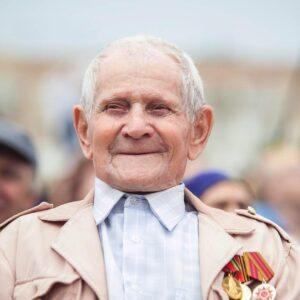 Победители: Николай Лебедев – участник парада Победы во Львове