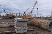 В Волгодонске уже смонтировано шесть пролетов строящегося моста