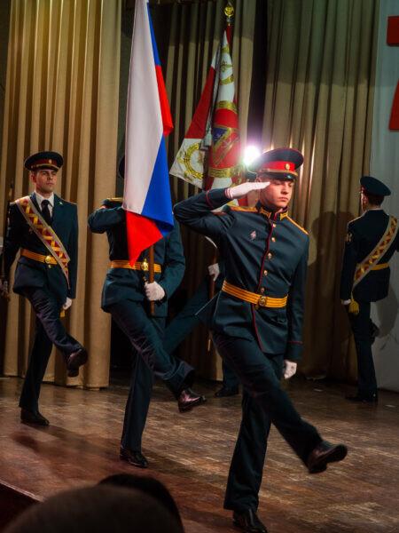 Военнослужащие воинской части 3504 принимали поздравления в честь Дня образования воинских частей и соединений по охране важных государственных объектов