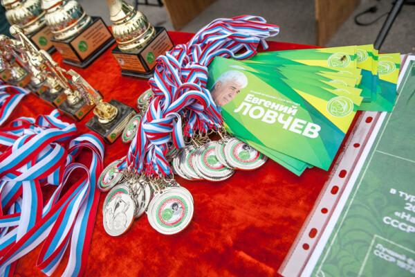 В Волгодонске состоялся турнир по футболу на кубок имени Евгения Ловчева