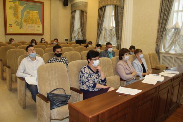 Заседание депутатской комиссии по социальным вопросам