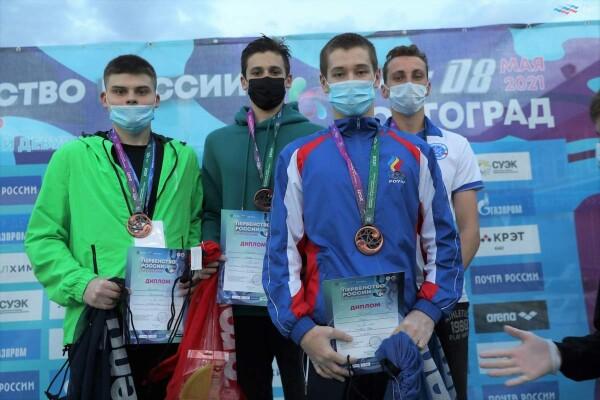 Успех наших пловцов на первенстве России