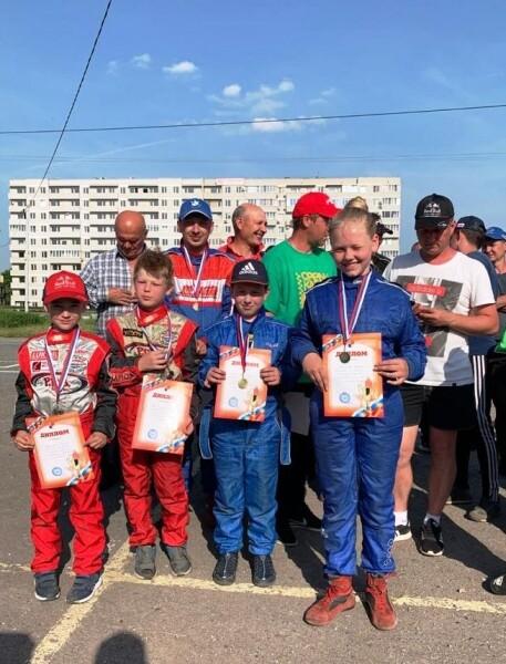 Четыре из четырех: картингисты СЮТ успешно выступили на этапе областных соревнований