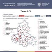 Число инфицированных COVID-19 на Дону увеличилось на 210