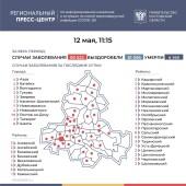 Число инфицированных COVID-19 на Дону увеличилось на 201