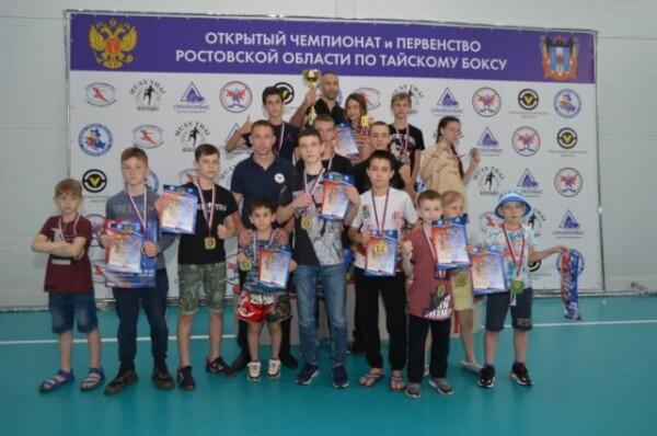 В Волгодонске состоялись чемпионат и первенство Ростовской области по тайскому боксу