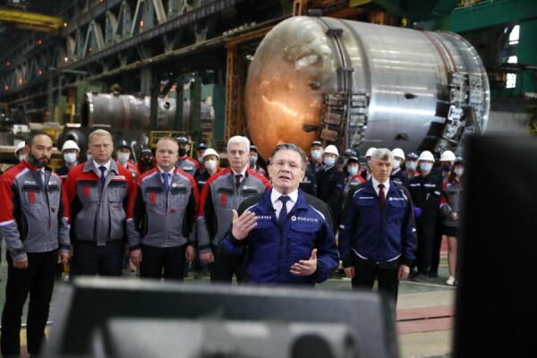 Дан старт сооружению новых блоков российского дизайна атомных станций «Тяньвань» и «Сюйдапу» (Китай)