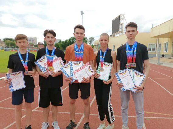 Спортсмены из Волгодонска успешно выступили на первенстве Ростовской области по лёгкой атлетике среди юношей и девушек до 16 лет
