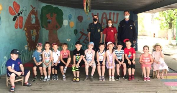 В Волгодонске дошкольников обучают правилам пожарной безопасности и поведению на воде